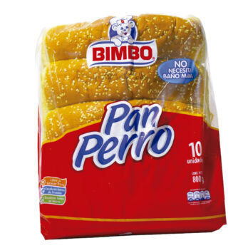 Bimbo Pan Perro Paquete X 10 Unidades