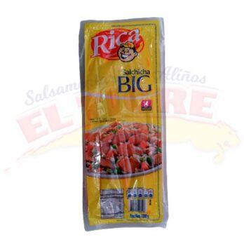 Salchicha Big Rica x 14 Unidades