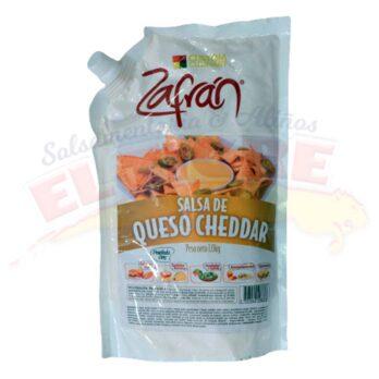 Salsa Zafrán Queso Cheddar x Kilo