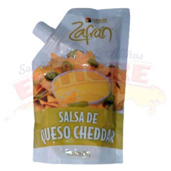 Salsa Zafrán Queso Cheddar x 200 Gramos