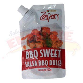 Salsa Zafrán BBQ Sweet x 200 Gramos