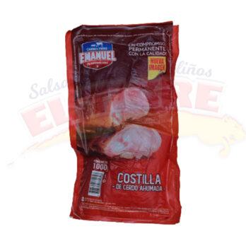 Costilla De Cerdo Ahumada Emanuel x 1 Kilo